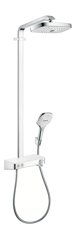 Hansgrohe_RD_SelectE300_Showerpipe_whitechrome.jpg