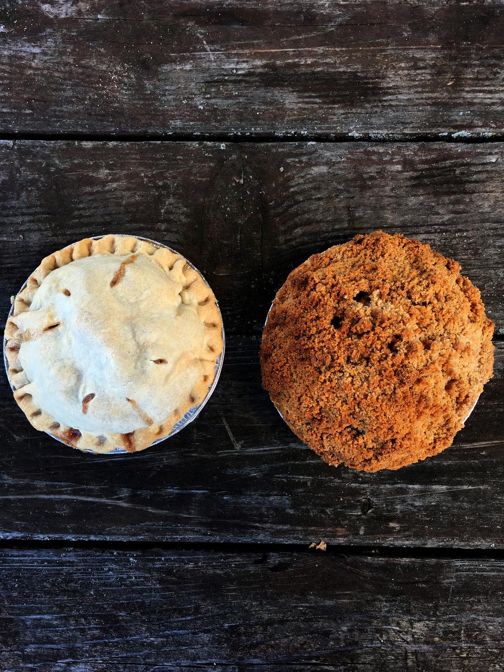 Apple Pie & Apple Crisp