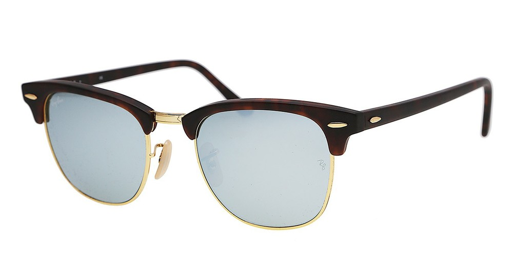 rb3016 49  RayBan Clubmaster Flash Lenses RB3016 114530 49-21 \u2014 SightUK