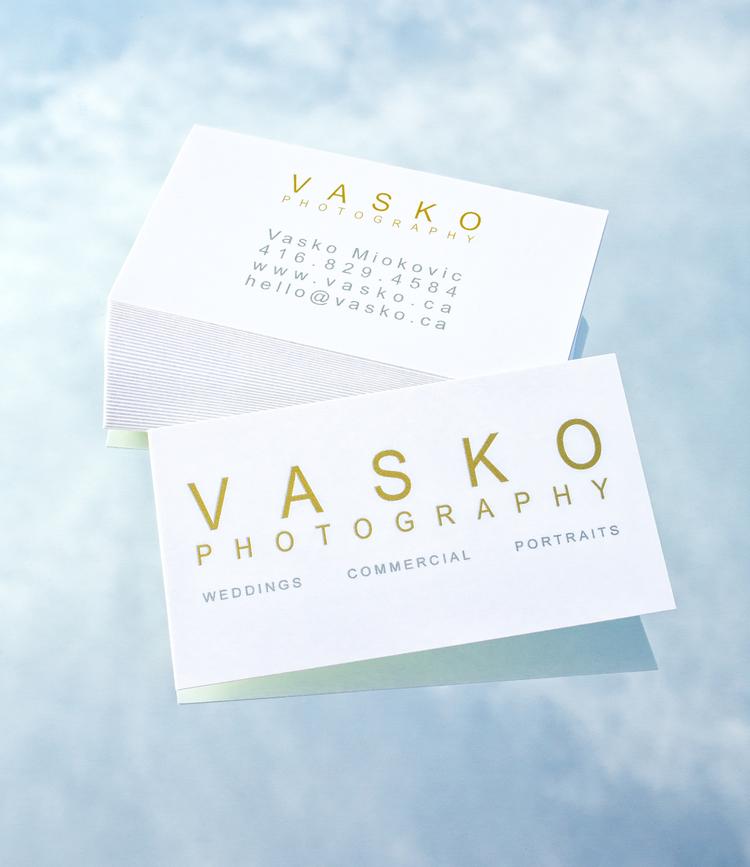 New Business Cards & Postcards — VASKO PHOTOGRAPHY