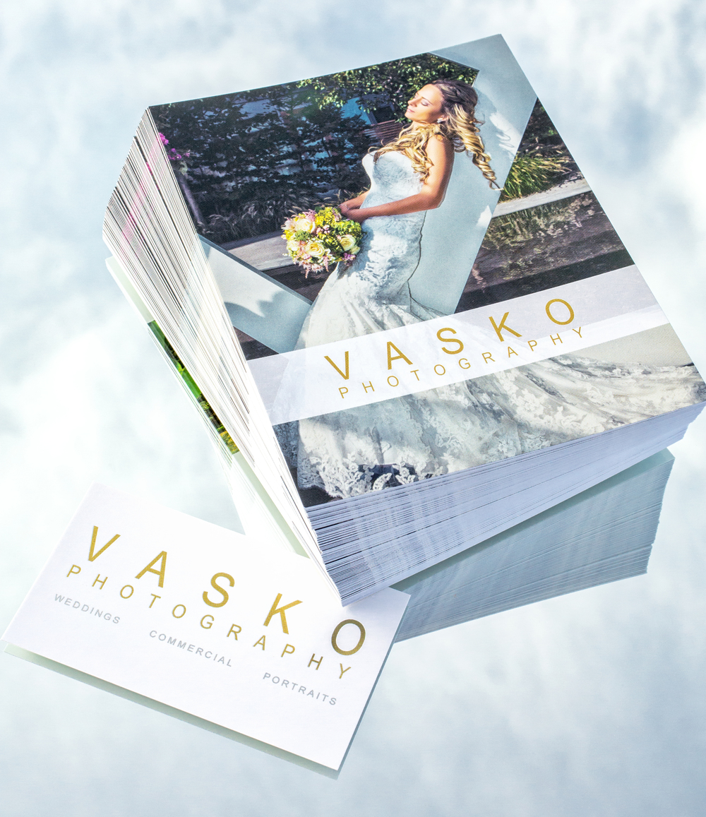 Vasko Photography Toronto Wedding Photographer postcard