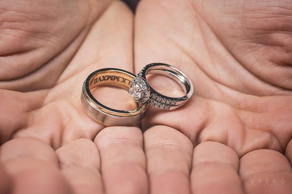 Wedding Rings VASKO PHOTOGRAPHY