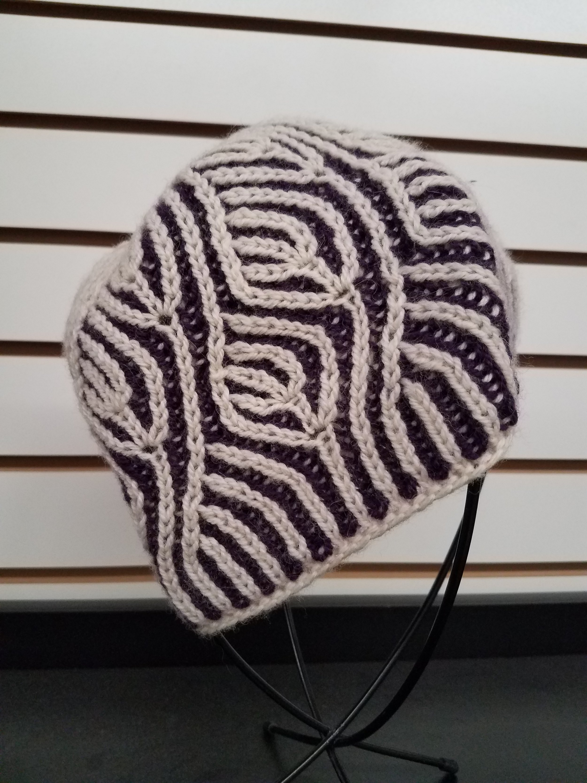 808b940bfb677 clearance styleride solid slouchy ring beanie cap 5ae50 9ebbe  store  camella hat a study in brioche knitting with jane b173e 92b7b