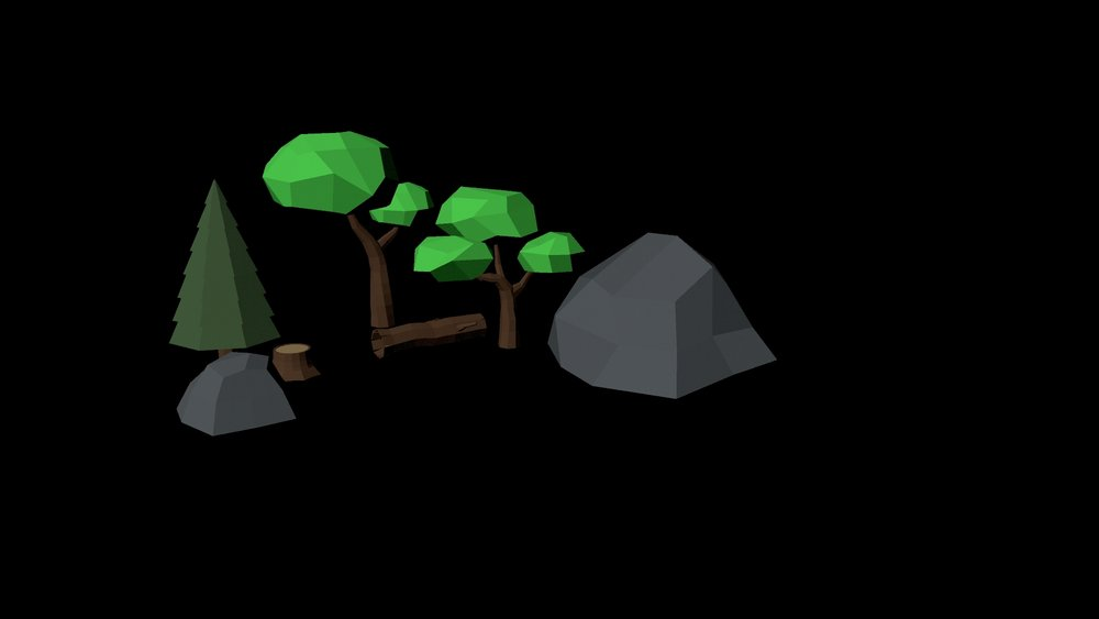 Forest Terrain - intial objects.jpg