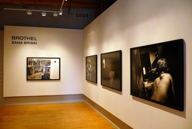 Brothel , Stephen Daiter Gallery, Chicago  Silver gelatin prints, 50 x 35 inches.