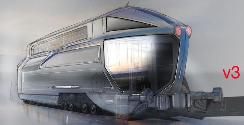 Human Target Train. Caboose