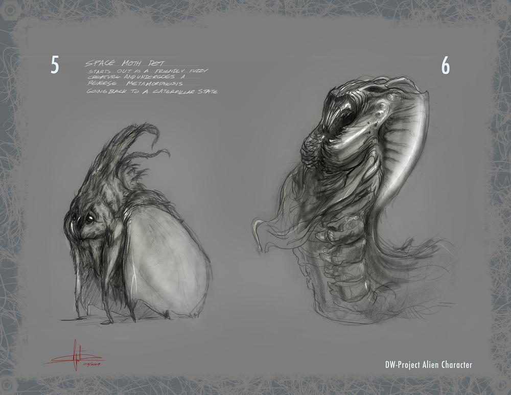 Alien Moth