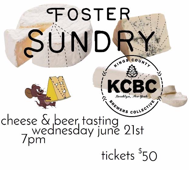 Foster Sundry KCBC event