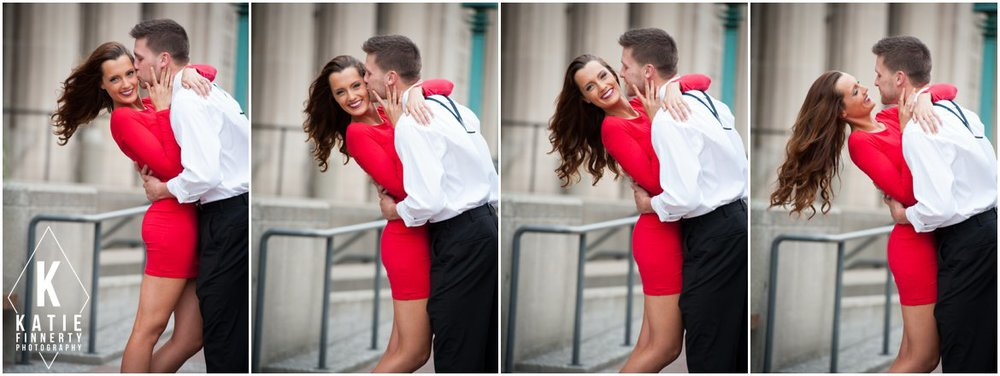 Downtown Rochester Engagement Session