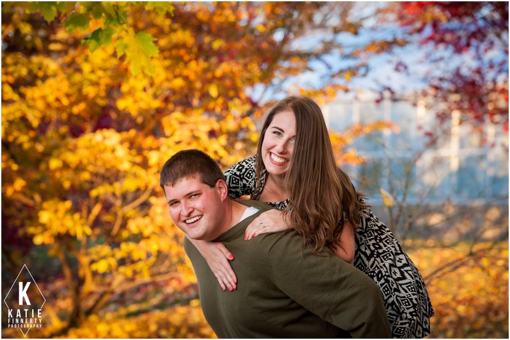 Rochester Fall Engagement Session