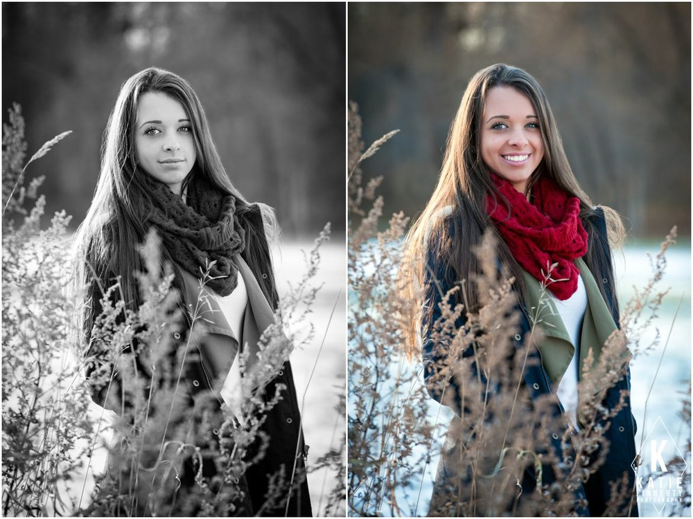 Rochester Winter Senior Portraits