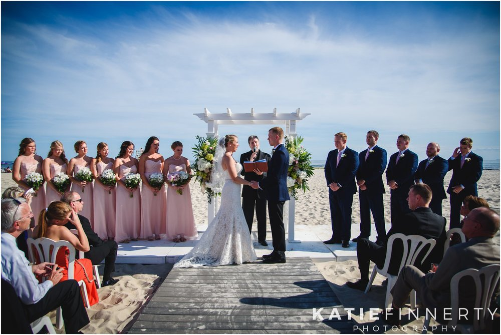 Long Island Beach Wedding Ceremony
