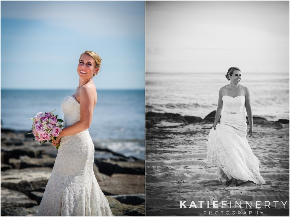 Long Island Beach Wedding Bride