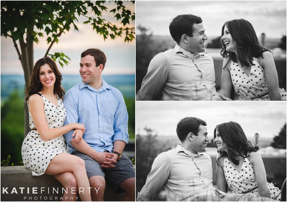 Geneseo Engagement Session Sunset