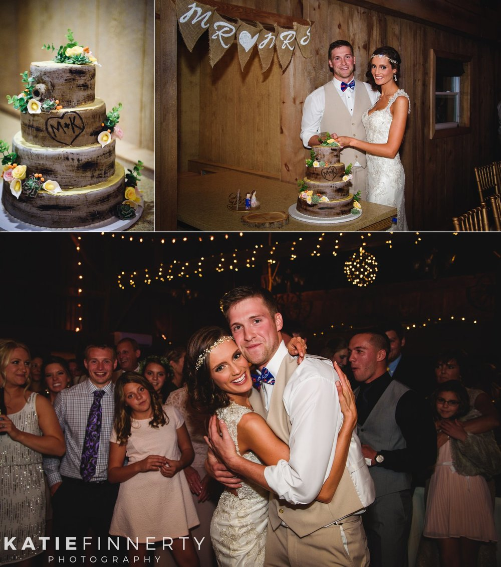 twin silos barn wedding photography