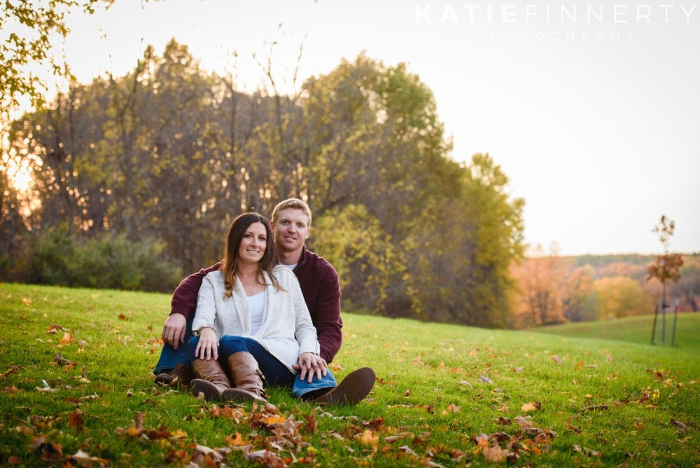 mendon ponds engagement session