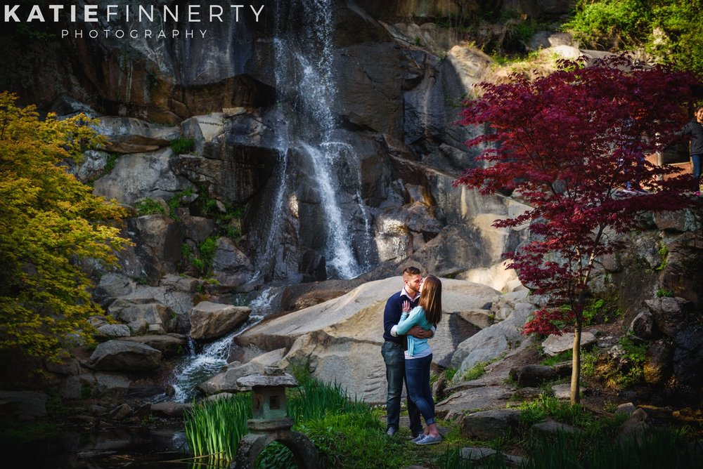 maymont richmond engagement session