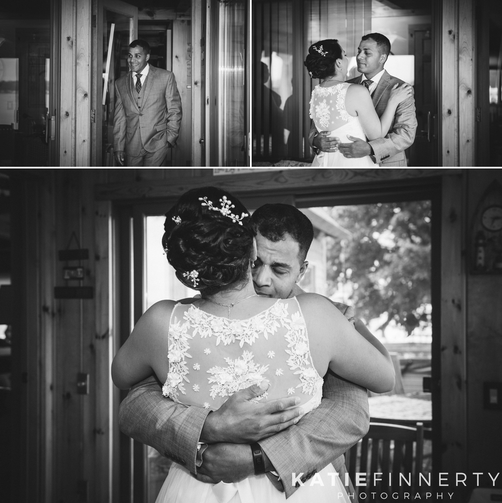 Rochester Wedding Photography First Look