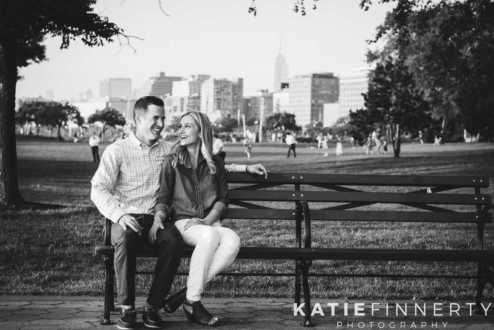 Battery Park NYC Engagement Photography