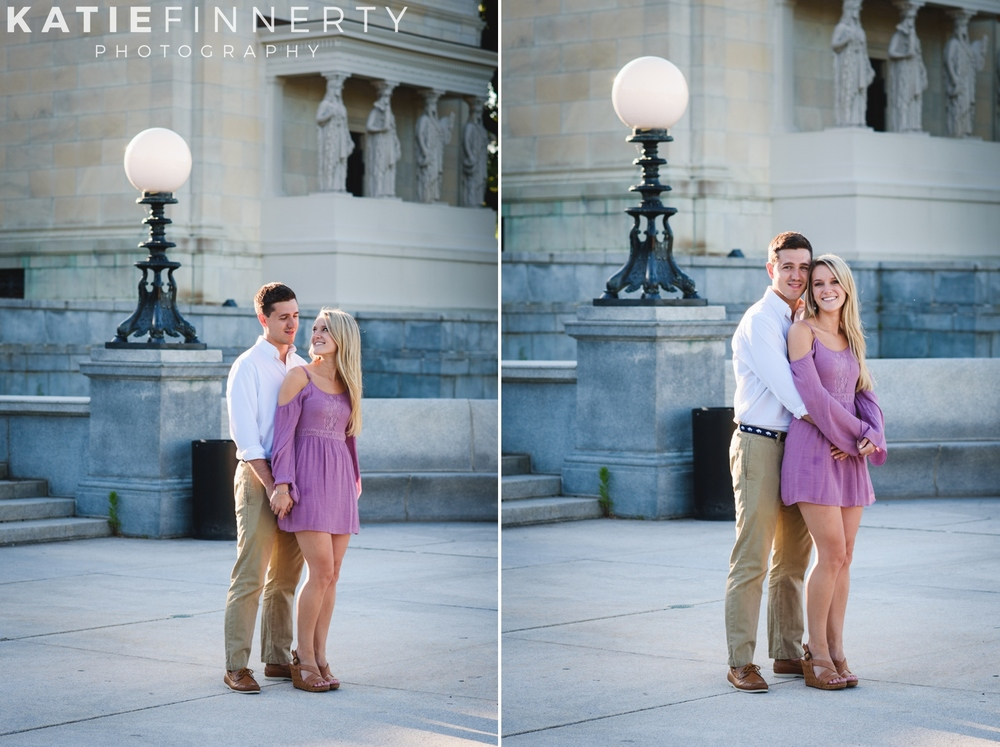 Delaware Park, Buffalo NY Engagement Session