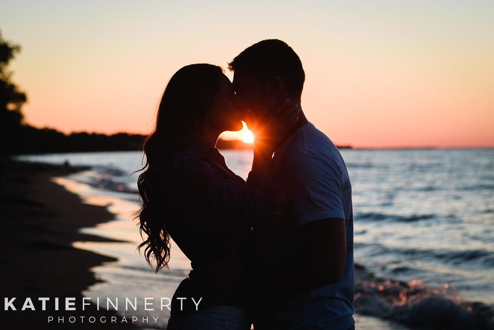 Rochester Durand Beach Engagement Session