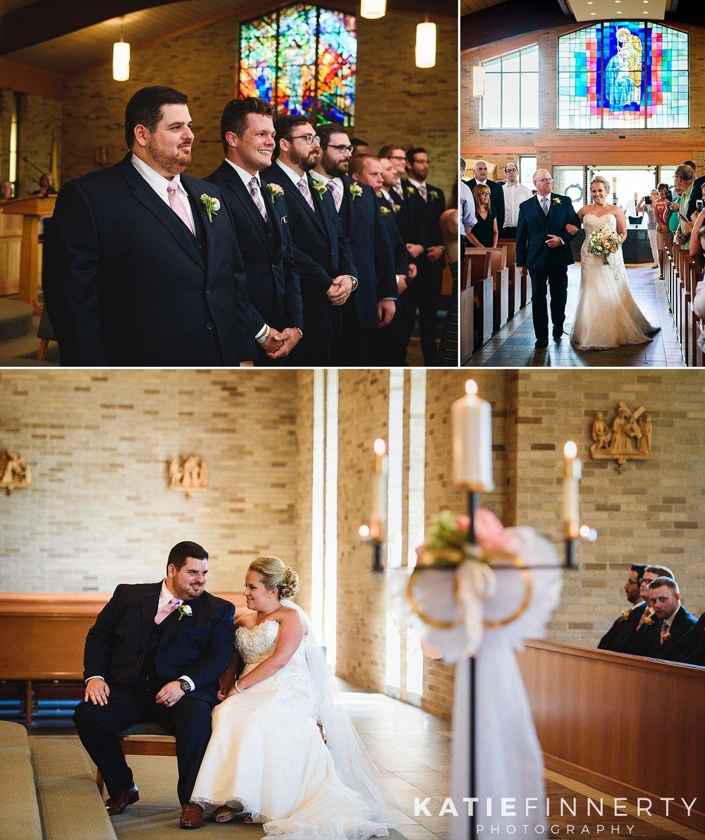 St. Joseph's Church Rochester Wedding Photography