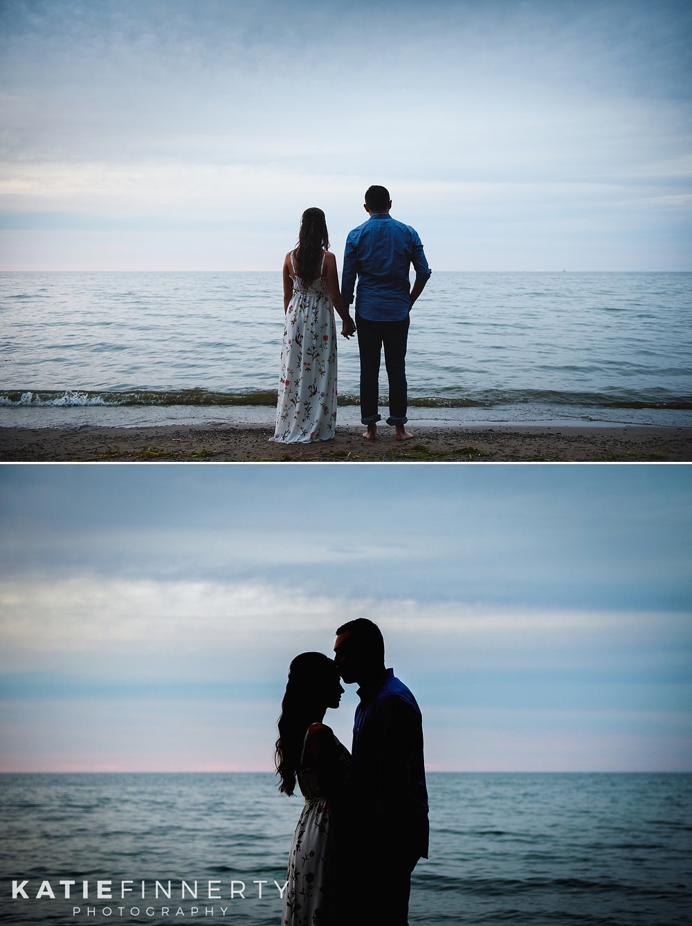 Durand Eastman Beach Rochester Engagement Session