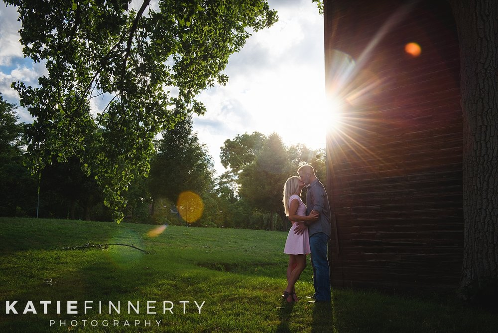 Rochester Schoen Place Barn Engagement Session