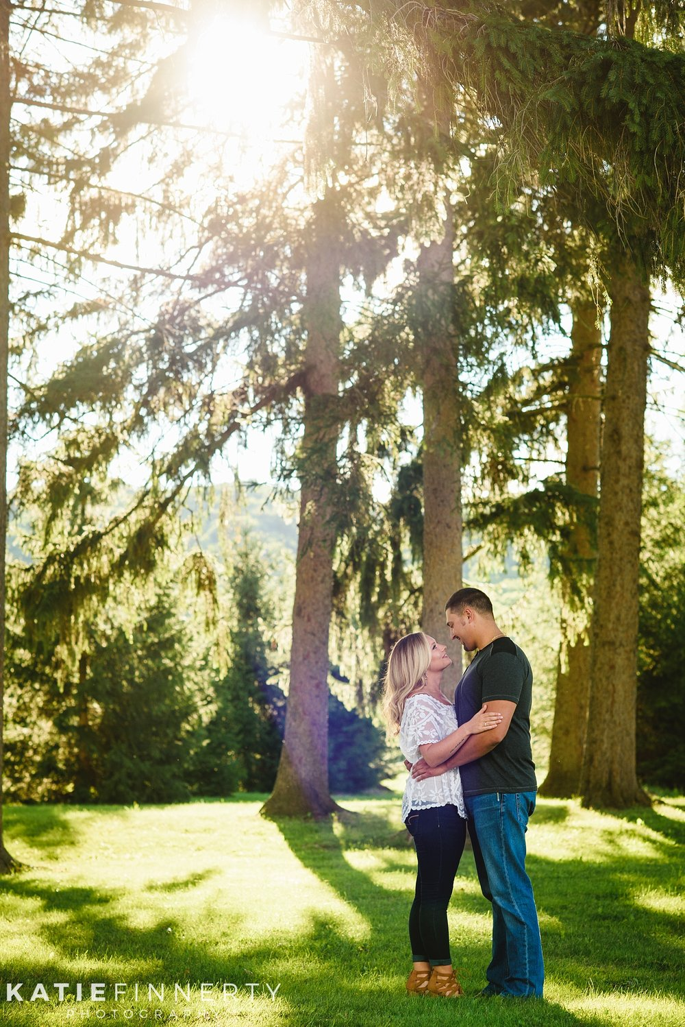 Hemlock Lake Engagement Session