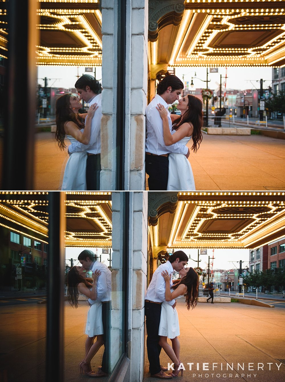 Downtown Buffalo Theater District Engagement Session