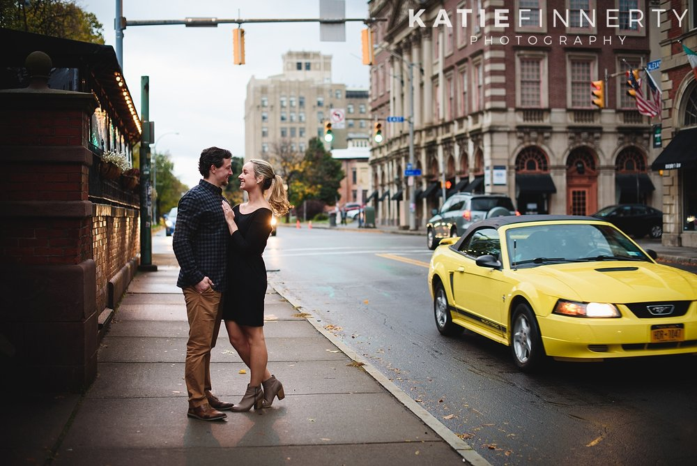 Downtown Rochester Engagement Photography