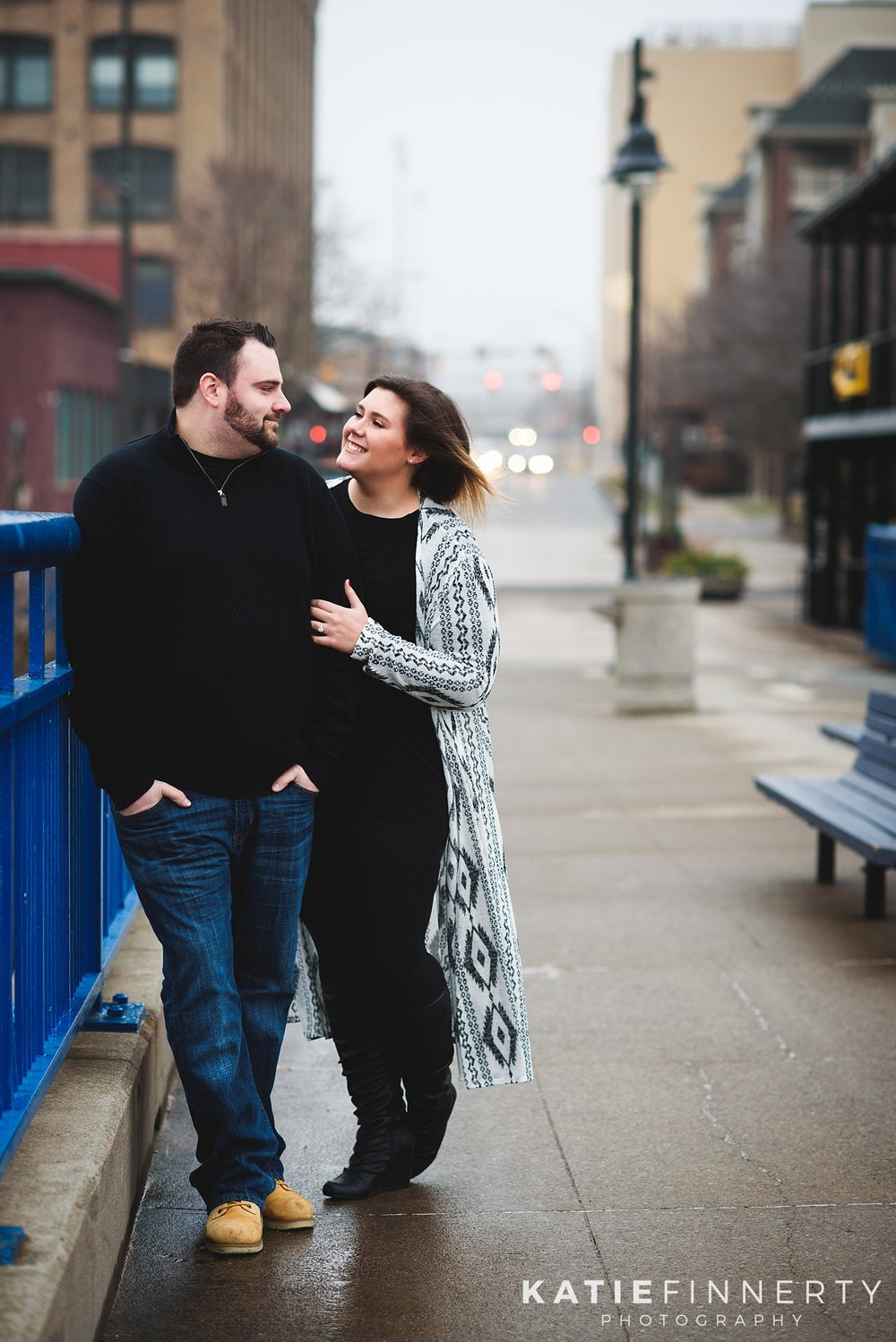 Rochester Winter Engagement Session Photography