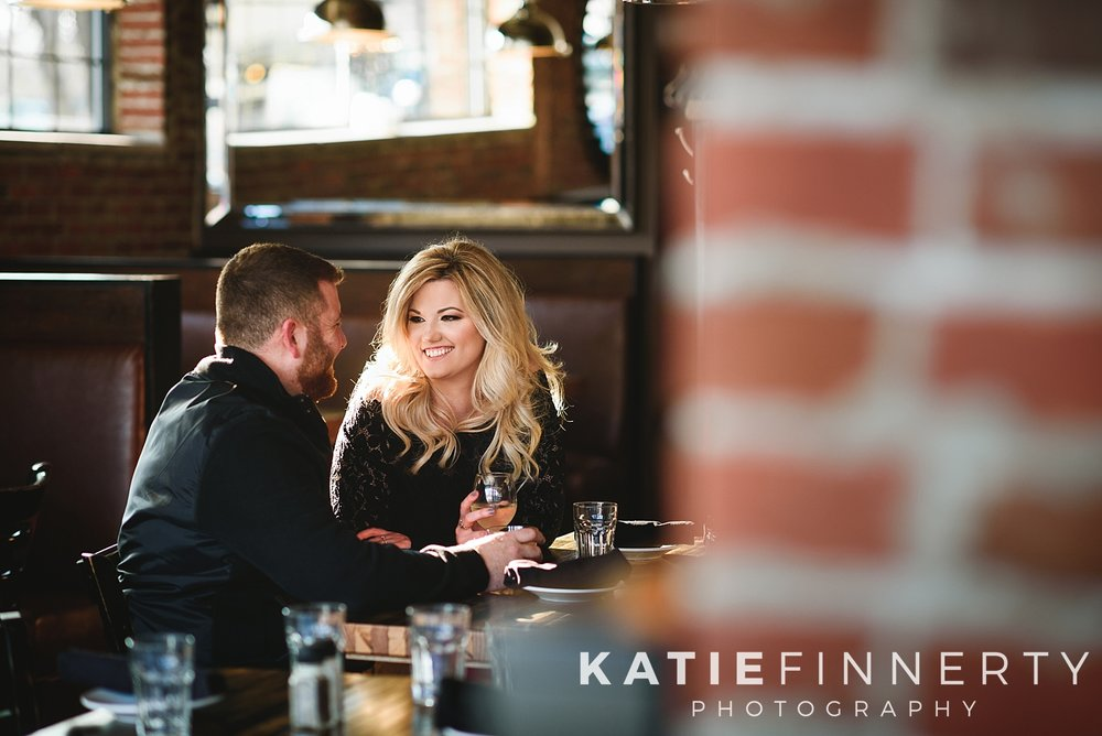 Rochester Restaurant Engagement Session