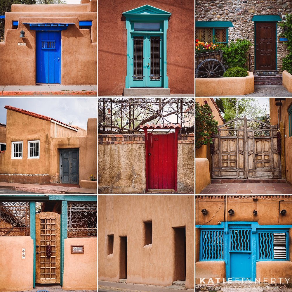 Doors of Santa Fe, New Mexico
