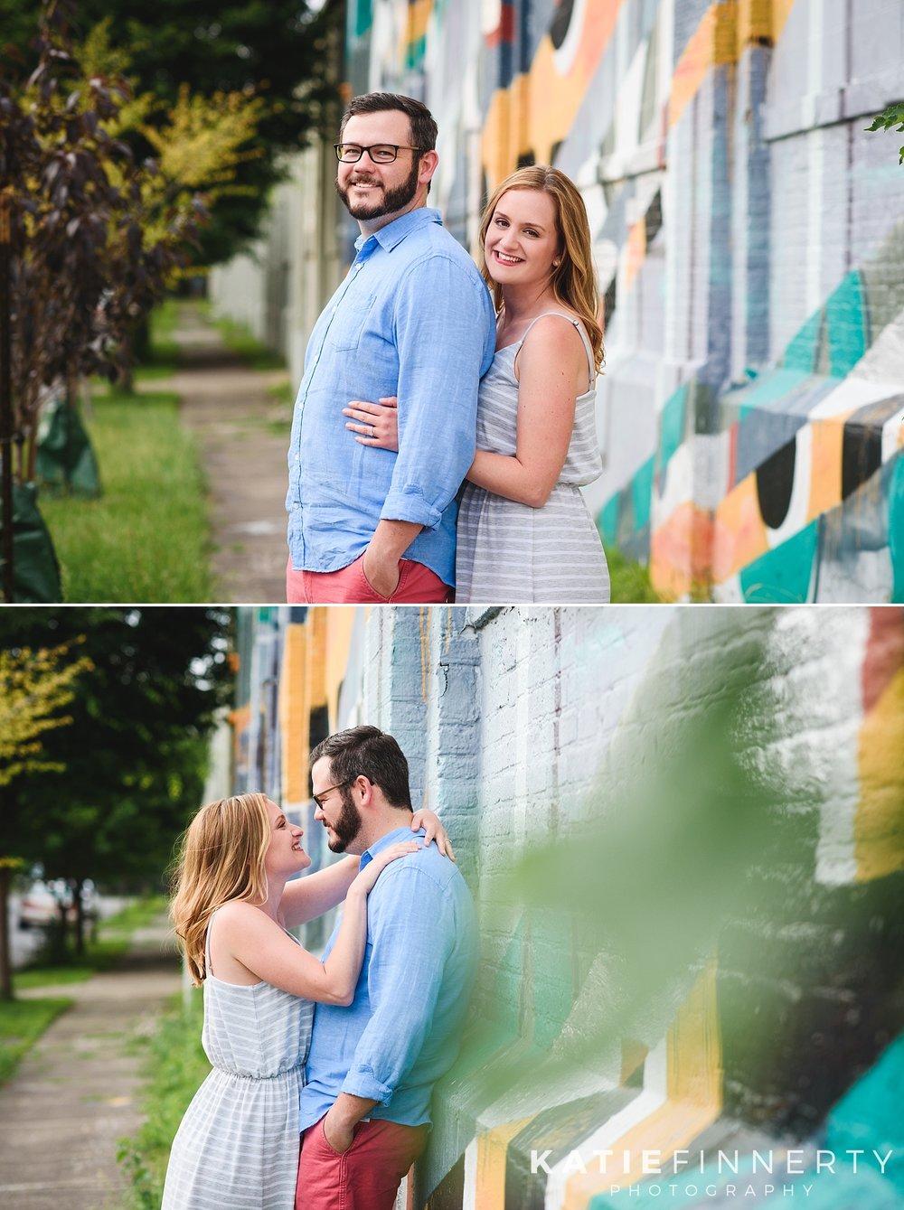 Rochester Street Art Engagement Photography