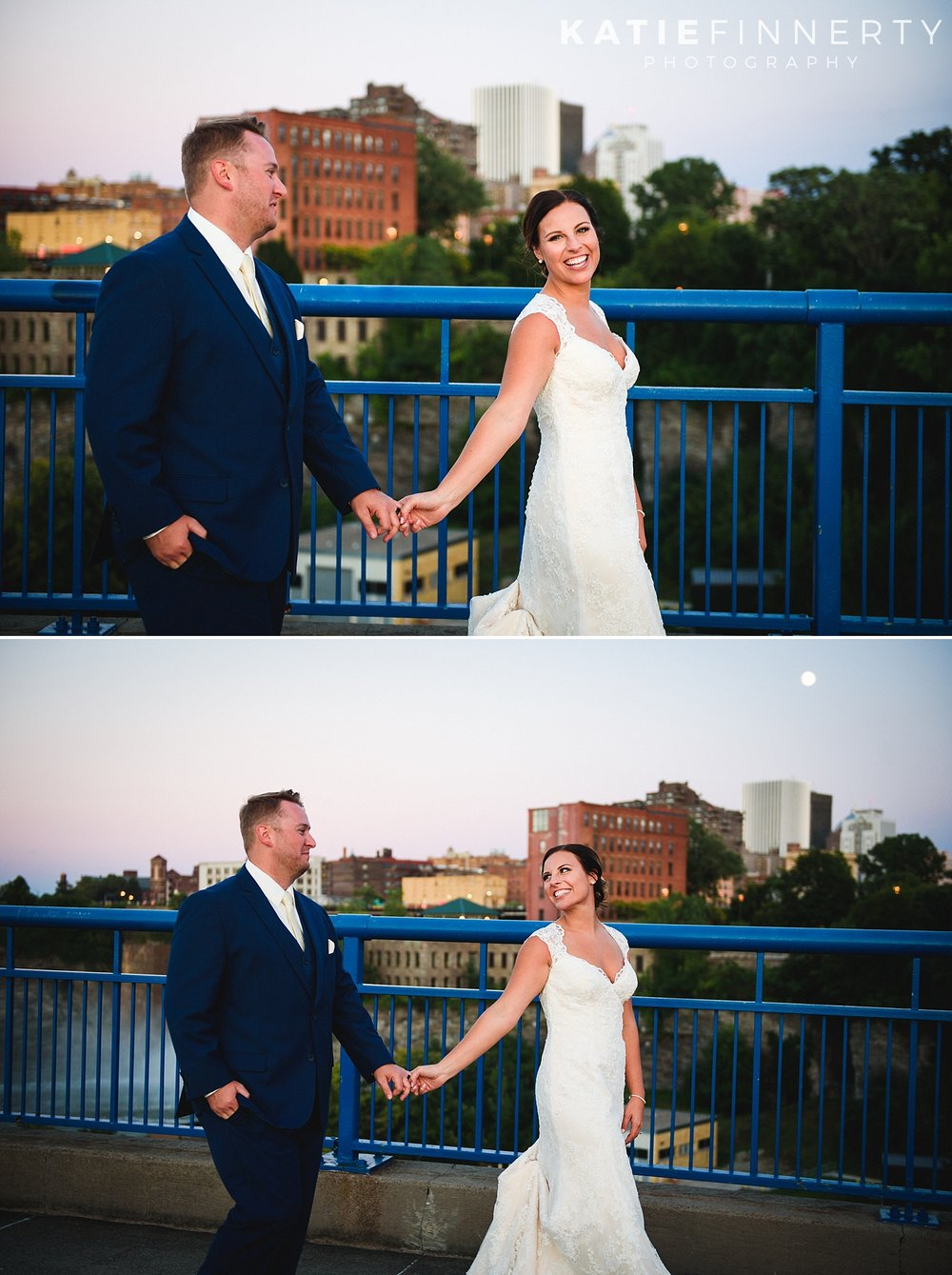 La Luna High Falls Rochester Wedding Photography