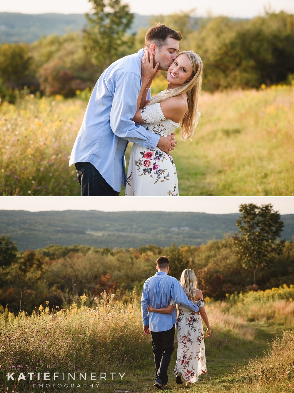 Hemlock Lake Finger Lakes Engagement Photography