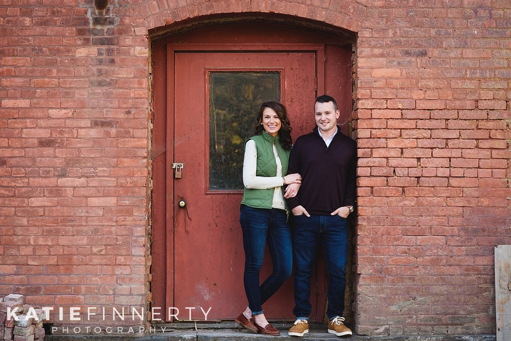 Browns Wallmoosac Brewery Engagement Photography