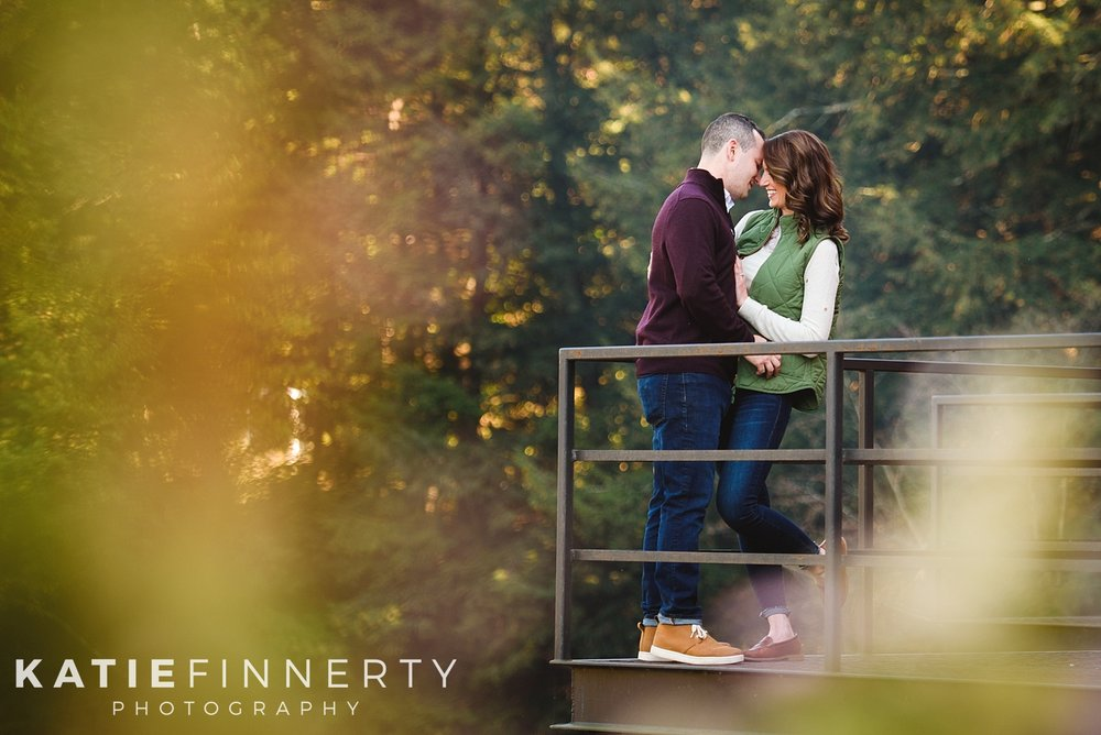 Hoosick Falls Brewery Fall Engagement Session Photography