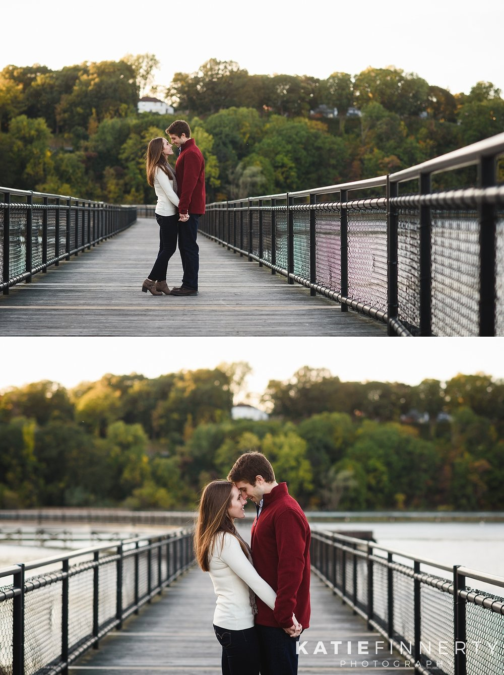 Turning Point Park Rochester Fall Engagement Session Photography