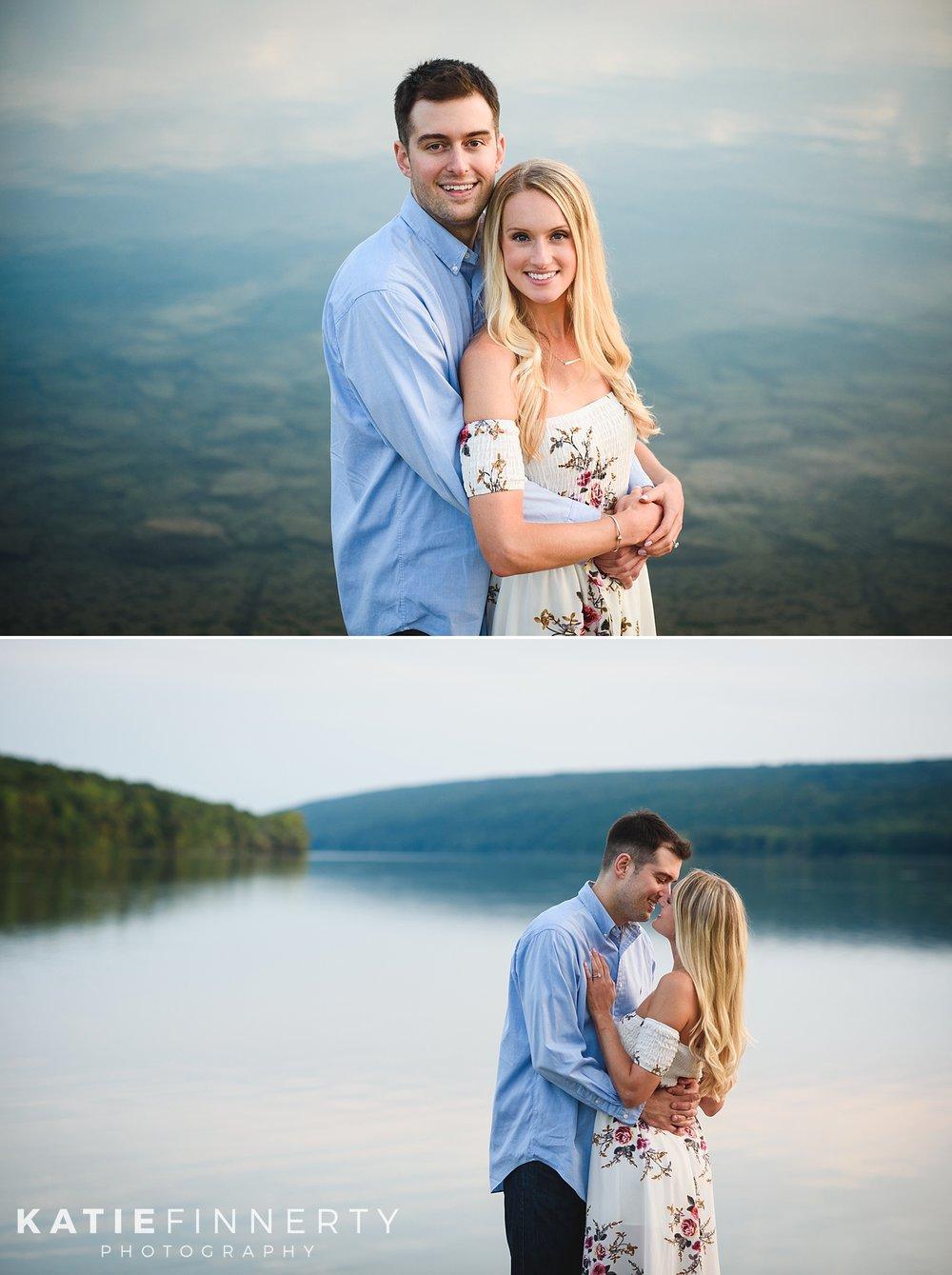 Hemlock Lake Finger Lakes Engagement Session Photography