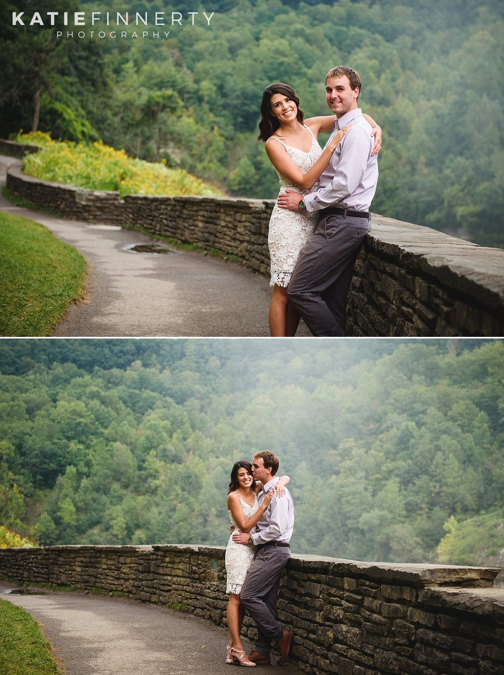 Letchworth Park Rochester Engagement Session Photography
