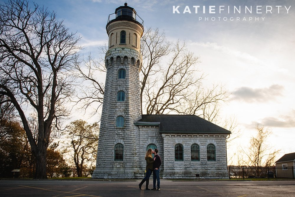 Old Fort Niagara Youngstown Engagement Session Photography
