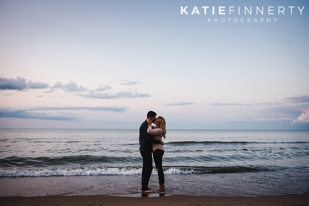 Durand Beach Rochester Engagement Session Photography