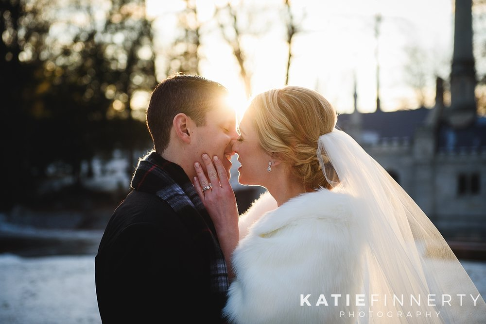 Mount Hope Rochester Winter Wedding Photography