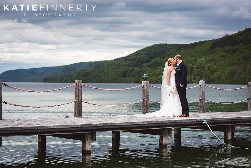 Otesaga Resort Hotel Cooperstown Spring Wedding Photography