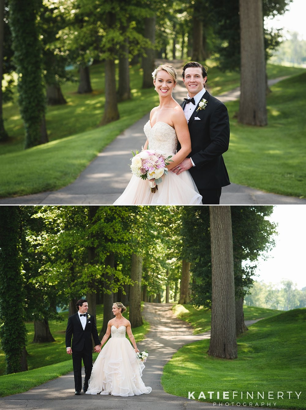 Irondequoit Country Club Rochester Summer Wedding Photography