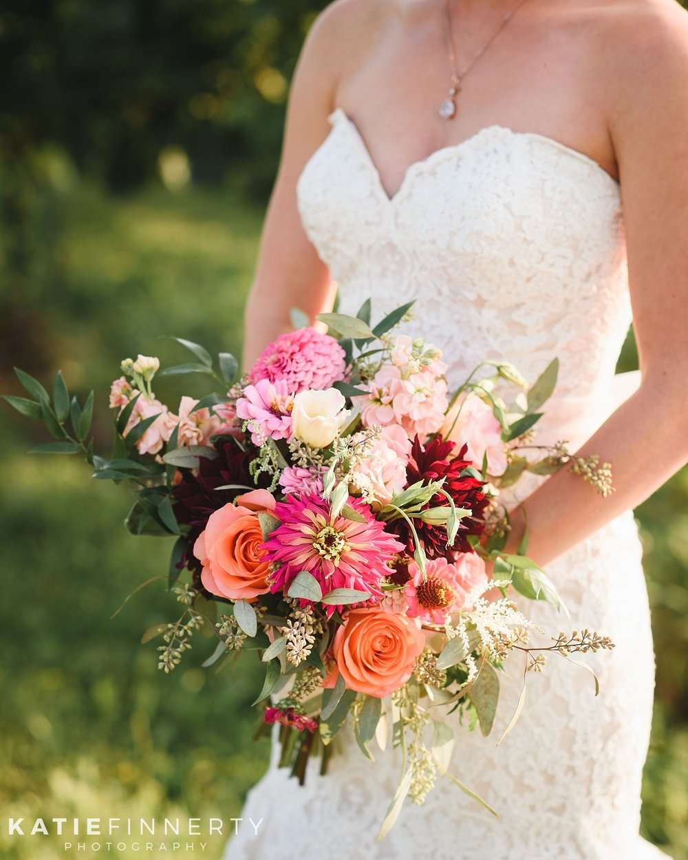 Casa Larga Bridal Bouquet Rochester Summer Wedding Photography