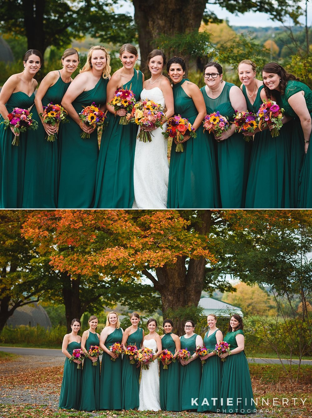 Silver Queen Farms Fall Barn Wedding Photography