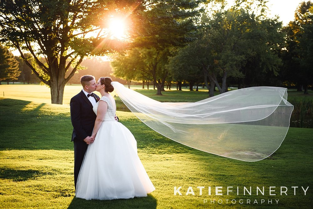 Deerfield Country Club Summer Wedding Photography